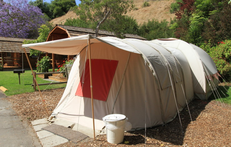 The San Diego KOA Resort Offers Camping 'Anyway You Like It' in Deluxe Cabins, Camping Cabins, Safari Tents, Tent Sites and RV Sites